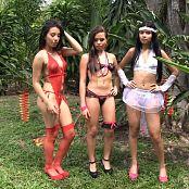Natalia Marin, Alexa Lopera & Sofia Zapata Thong Trio Bonus LVL 1 YFM HD Video 207