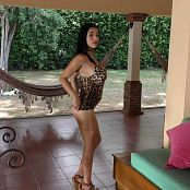 Pretty Pamela Leopard Costume Dance HD & 4K HD Video 013