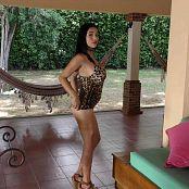 Pretty Pamela Leopard Costume Dance HD & 4K HD Video 013