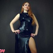 Princess Kira Sexy Shiny Dress JOI HD Video