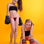 Silver Starlets Valensiya & Isabella Fighters Picture Set 1