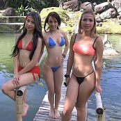 Ximena Gomez, Laurita Vellas & Luisa Henano Pond Play Bonus LVL 2 TBF HD Video 074