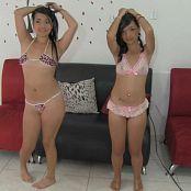 Yenni & Yamile Living Room Undies Bonus LVL 2 TBF HD Video 033
