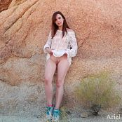 Ariel Rebel Joshua Tree Photoshoot HD Video