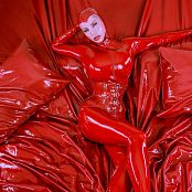 Bianca Beauchamp Sea of Red Latex & Catsuit Picture Set