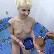Bisexual Britni Pissed On & Eating Dog Food Video