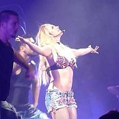 Britney Spears Cute In Daisy Dukes Dancing Femme Tour Video