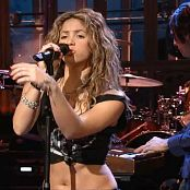 Shakira La Tortura Live Saturday Night Live HD Video