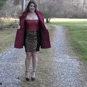 Sherri Chanel Leopard Dress Bonus HD Video 215