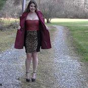 Sherri Chanel Leopard Dress Bonus HD Video 215