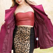 Sherri Chanel Leopard Dress Picture Set 353