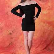 Silver Jewels Sarah Black Dress Picture Set 5