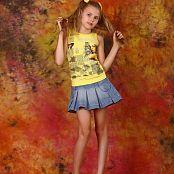 Silver Stars Angelica Denim Skirt Picture Set 1