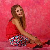 Silver Stars Angelica Hearts Skirt Picture Set 1