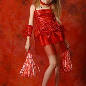 Silver Stars Angelica Red Dress Picture Set 1