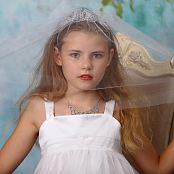 Silver Stars Angelica White Dress Picture Set 1