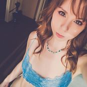 Ariel Rebel Blue Lace Selfies Picture Set