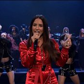 Demi Lovato Sorry Not Sorry Live Jimmy Fallon & Interview HD Video