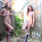 FloridaTeenModels Breezy & Ellie Oh My Slingshots Part 2 DVDR Video