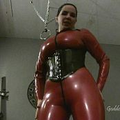 Goddess Alexandra Snow Latex Catsuit Worship HD Video