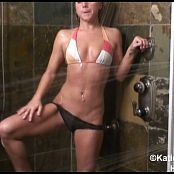 Katies World Sheer Black Panties & Shower HD Video