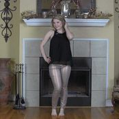 Sherri Chanel Black Latex Panties & Pasties Bonus HD Video 224