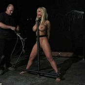 Shyla Stylez Standing Shocked Vibed BDSM Video