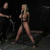 Shyla Stylez Standing Shocked Vibed BDSM Video