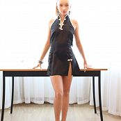 Silver Jewels Alice Black Dress Picture Set 5