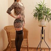 Silver Jewels Alice Black Stockings Picture Set 2