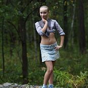 Silver Jewels Alice Denim Skirt Picture Set 3