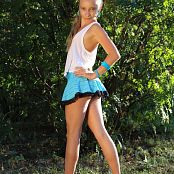 Silver Starlets Alice Blue Skirt Picture Set 1