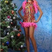 TeenModelingTV Anastasia Christmas Beauty Picture Set