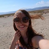 Ariel Rebel Shooting Day With Anthony Randal In Joshua Tree Picture Set