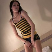 Fuckable Lola Cute Bumble Bee Shirt Tease HD Video