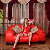 Image Works Kira Red Dress Picture Set 1