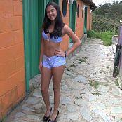 Karina Gomez Pale Blue Lingerie TM4B HD Video 002