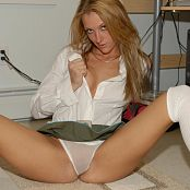Kristi Kitty Sheer Panties Picture Set