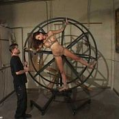 Layla Rivera Wheel Whipped BDSM Video