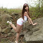 Silver Jewels Sarah White Shorts Picture Set 1