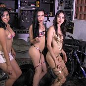 Veronica Perez, Emily Reyes & Ximena Gomez Dance Team Bonus LVL 2 YFM HD Video 245