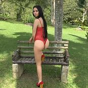 Ximena Gomez Red Lingerie Dance Tease TM4B HD Video 008