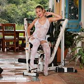 Azly Perez White Sheer TM4B Picture Set 008