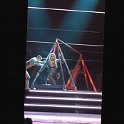 Britney Spears 3 Glittering Catsuit POM Show HD Video