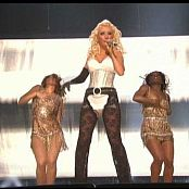 Christina Aguilera Cant Hold Us Down Live On Tour 2007 Video