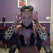Christina Model Leopard Print Outfits Camshow 21 Video