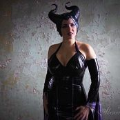 Goddess Alexandra Snow Maleficent HD Video