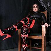 Goddess Alexandra Snow Thigh High Boots & Catsuit JOI HD Video