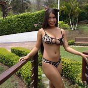 Luciana Model Leopard Bikini TM4B 4K UHD & HD Video 004
