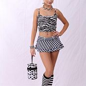 Silver Jewels Alice Stripes Picture Set 1